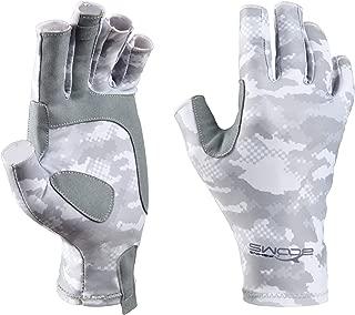 Booms Fishing FG2 Fingerless Gloves Fishing Sun Gloves UPF50+