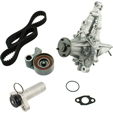 Evergreen TBK215HWPA2 Compatible With 08//97-2005 Lexus IS300 GS300 3.0L 2JZGE Timing Belt Kit AISIN Water Pump