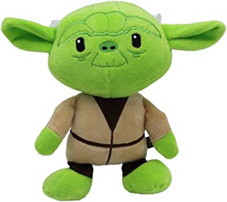 Star Wars Plush Yoda Figure Dog Toy   Soft Squeaky Dog Toy