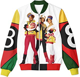 New Salt and pepa Design Full-Printed Jacket exclusif Many Available in USA Sizes (with The Group Picture)