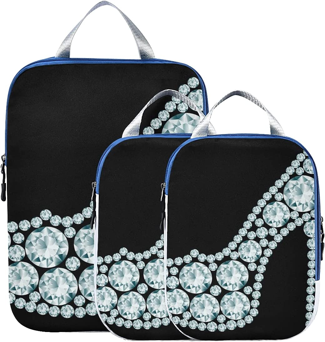 Packing Travel Organizer Cubes Shoes Ex 35% Complete Free Shipping OFF Diamond