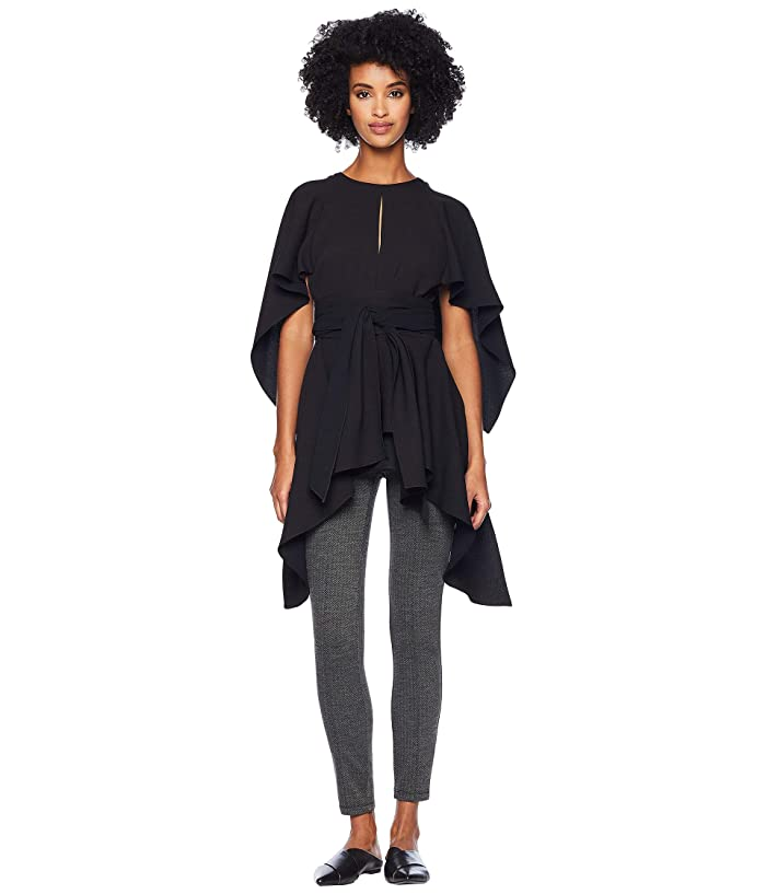 Prabal Gurung Kara Cape Top (Black) Women