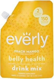Everly Belly Health - Probiotic Supplement, Sugar Free, Natural Sweeteners (Stevia & Organic Erythritol), No Calories, Wat...