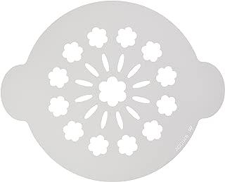 Silikomart Novelty 70.007.99.0060Acc 048/0.1x 24.5x 12.5cm Polypropylene White Plastic Cake Decorating Stencil