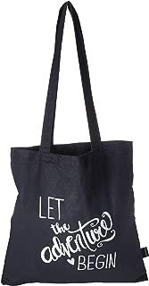 Hortense B. Hewitt 55517 The The Adventure Begins Tote Bag, Black