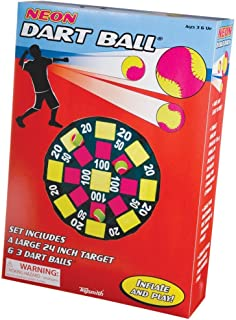 Toysmith Get Outside GO! Neon Dart Ball Set, Packaging may vary