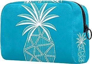 Damska torba do makijażu, kosmetyczka do przechowywania owoców tropikalnych na podróż, organizer na kosmetyki