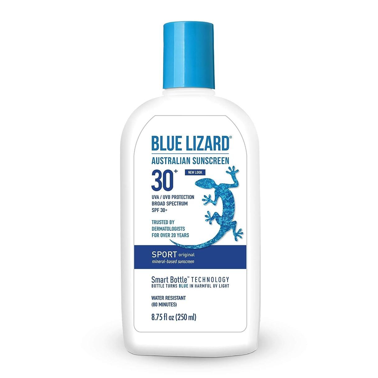 おとこ疲労地図Blue Lizard Australian SUNSCREEN SPF 30+, Sport SPF 30+ (8.75 oz) by Blue Lizard