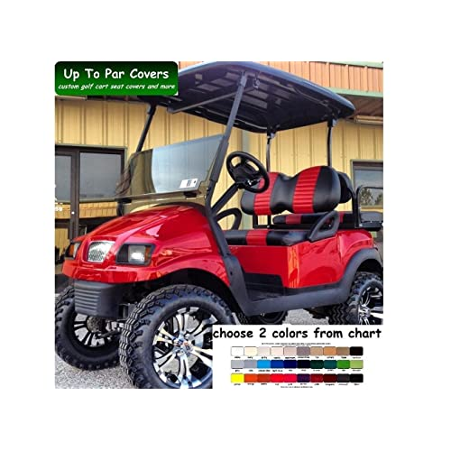 Club Car Golf Cart Seat Covers: Amazon com
