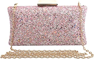 5afeecf8bf Amazon.com: Pinks - Evening Bags / Clutches & Evening Bags: Clothing ...