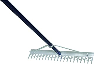Extreme Max 3005.4233 24 Commercial-Grade Screening Rake for Beach and Lawn Care with 66 Handle
