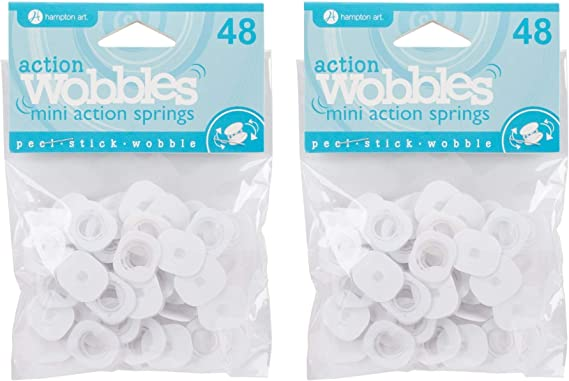 Action Mini Wobble Spring 48//Pkg