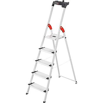 Escalera C/ Bandeja P.Ancho 5P - HAILO EC - 8040-501: Amazon.es: Bricolaje y herramientas