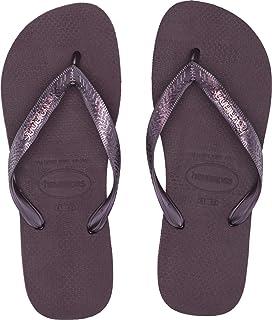 3b4c3c923661 Top Logo Metallic Flip Flops. Havaianas