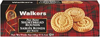 Walkers Pure Butter Shortbread Rounds Cookies, 150 Gram
