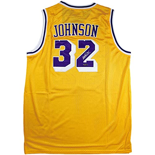 e0b412935 Magic Johnson Signed Autographed Los Angeles Lakers Adidas Jersey TRISTAR  COA