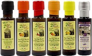 Papa Vince Flavored Olive Oil Collection - High Polyphenols, Single Sourced, Harvest Dec 2019/20, Mild Chili, Lemon, Orang...