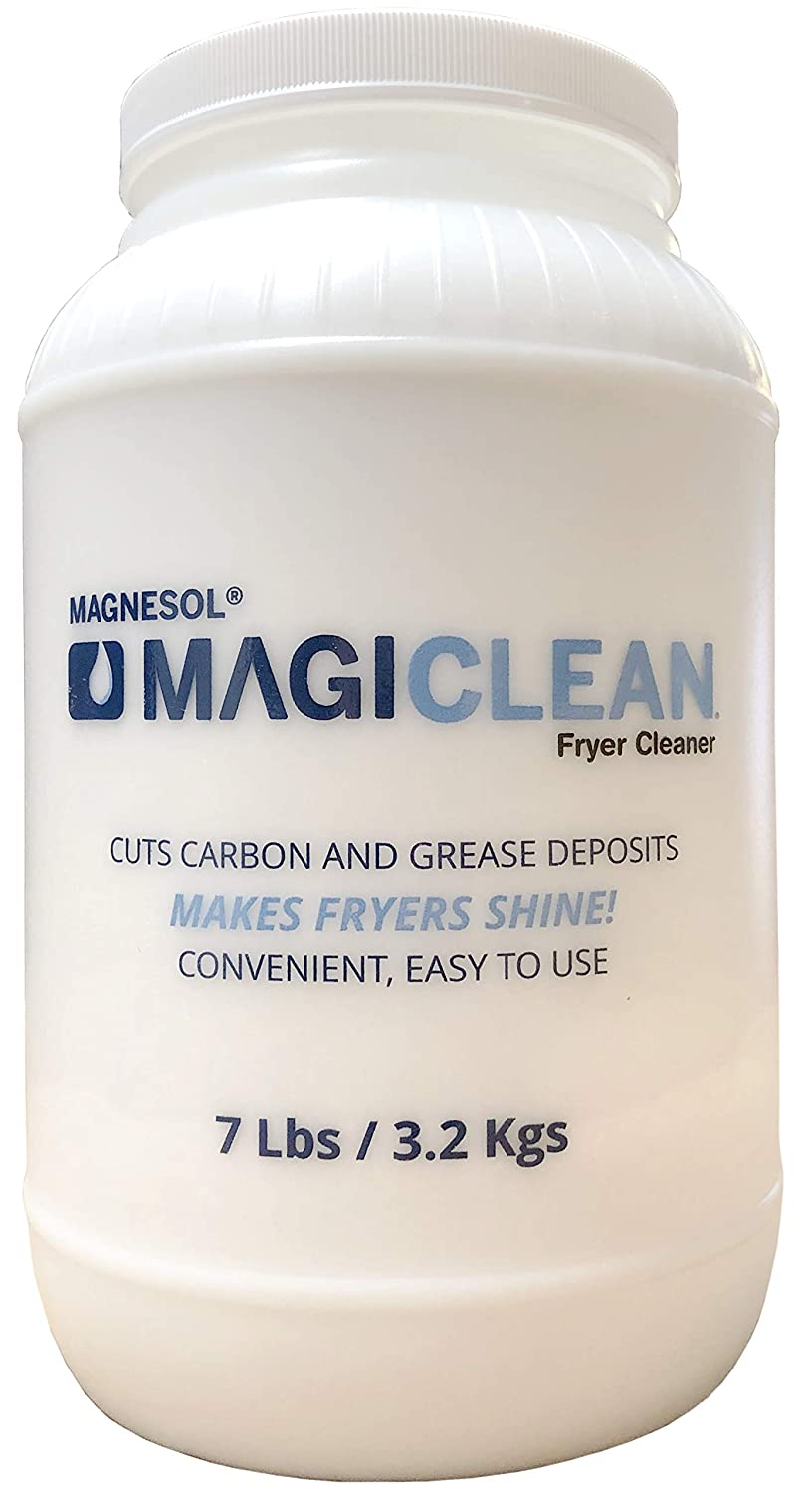 Magiclean Attention brand Fryer Cleaner Soldering by Magnesol Non-Foaming Cleaning