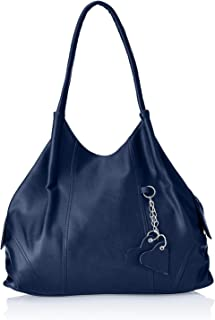 Fostelo Women's Style Diva Handbag (Blue) (FSB-394)