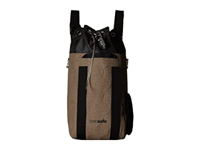 Pacsafe Dry 15L Travelsafe Anti-Theft Waterproof Backpack (Sand) Backpack Bags