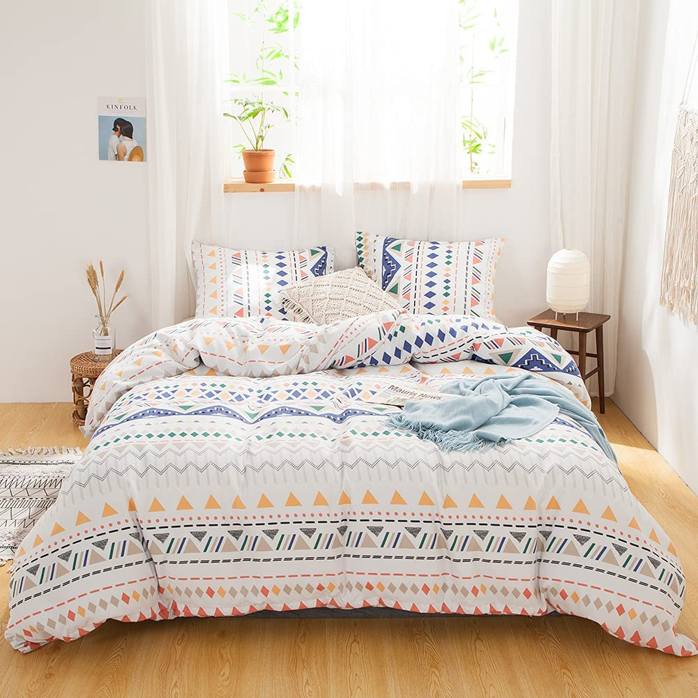 Bedbay Boho Aztec Bedding Set Duvet Colorful Cover Geometric online shopping Sales of SALE items from new works