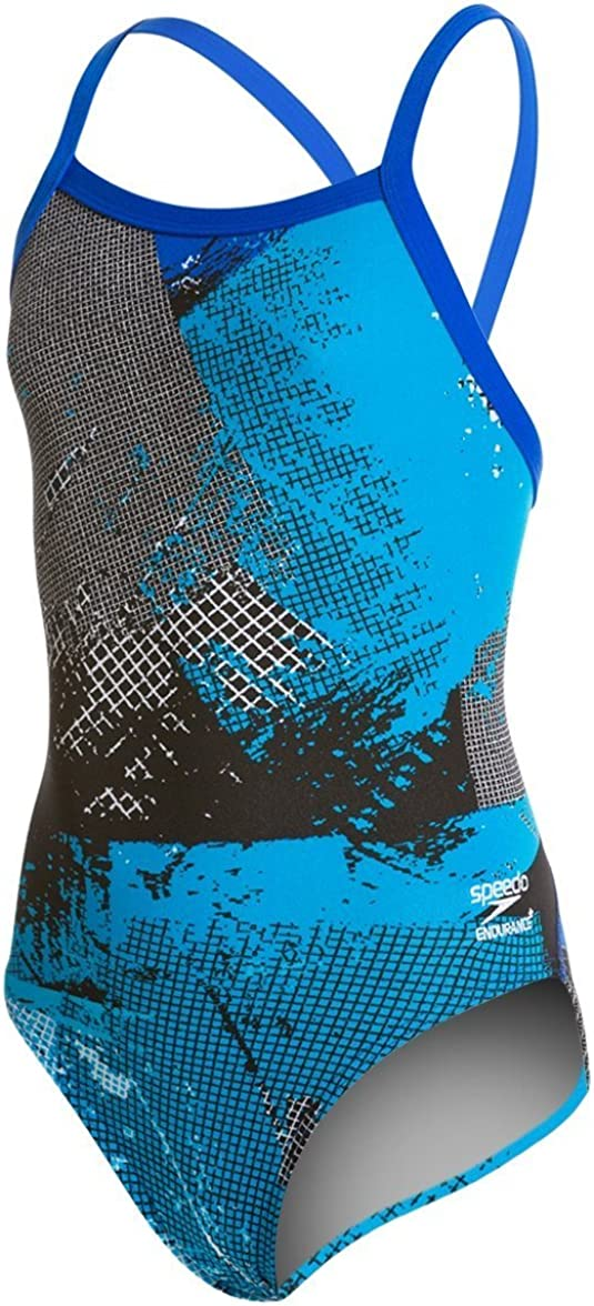 Speedo Big Girls How Its Done Fly Back Swimsuit