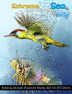Extreme Dot-to-Dot Sea & Sky Bird & Ocean Puzzles from 365 to 873 Dots: 11