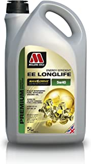 Millers Oils 7806GG EE Long Life 5W40 Fully synthetic, 5L jug