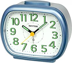 Rhythm Alarm And Table Clock CRA837WR18 - Gold And Black