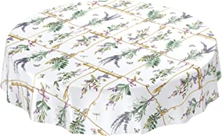Tondo Impermeabile tovaglia Tessuto Decorazione della casa per la Festa Nuziale Mulino a Vento fiore-135 Traann tovaglia di plastica Pulire clea