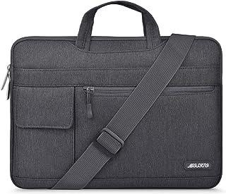 حقيبة كتف للكمبيوتر المحمول من MOSISO مصنوعة من البوليستر غطاء حقيبة