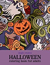 Simply Creative Halloween Coloring Book for Adults