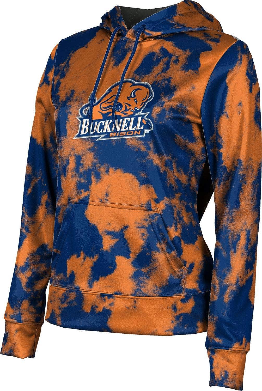 ProSphere Bucknell University Girls' Pullover Hoodie, School Spirit Sweatshirt (Grunge)