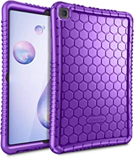 Fintie Silicone Case for Samsung Galaxy Tab A 8.4 2020 Model SM-T307 (Verizon/T-Mobile/Sprint/AT&T), Honey Comb Series Kid...