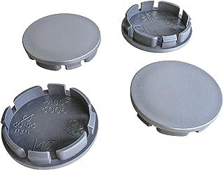 4 COPRIMOZZO COPERCHIO MOZZO senza emblema esterno 76,5 mm interno 58,0 mm per PORSCHE
