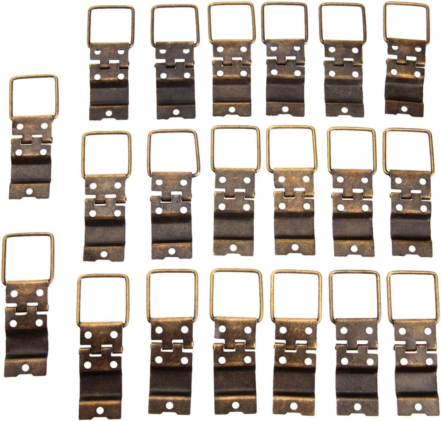 QFDM Cabinet Max 53% OFF Hinges 20Pcs Antique Bronze Max 54% OFF Furnitur