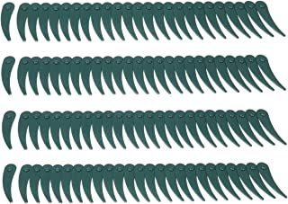 Pukido 100pcs Plastic Blade Durablade Grass Trimmer Lawnmower Blades For Bosch ART 23/26-18