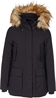 SAVE THE DUCK Luxury Fashion Womens P4528WSMEG900001 Black Down Jacket | Fall Winter 19