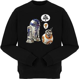 Je suis Ton p/ère.!! Sweat-Shirts Parodie Star Wars Star Wars parodique BB-8 et R2-D2 : BB French Days