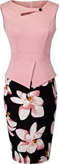Women's Elegant Chic Bodycon Formal Dress B288