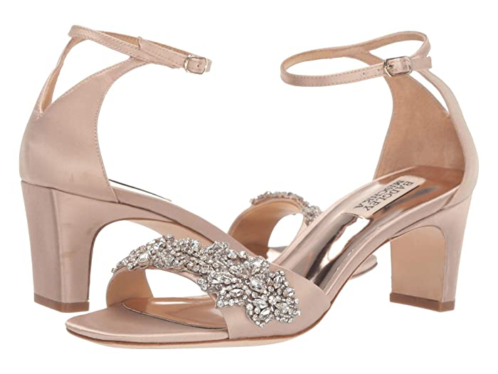 Badgley Mischka  Alison (Latte Satin) High Heels