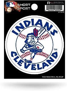 MLB Cleveland Indians Short Sport Decal, 1975 Logo