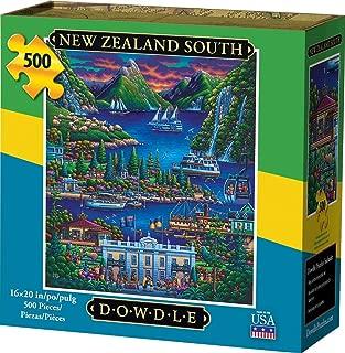 Dowdle Jigsaw Puzzle - New Zealand South - 500 Piece