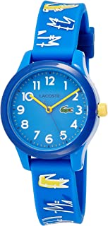 Lacoste Unisex-Child Quartz Watch, Analog Display and Silicone Strap 2030019