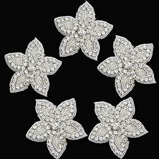 Best rhinestone flower applique Reviews