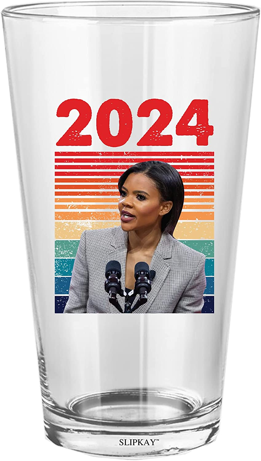 Candace Owens For President Glass Oz Cheap super special Gifts price Pint 16