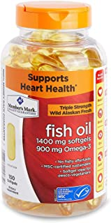 Member's Mark - Omega 3, Fish Oil 1400 mg (900 mg EPA/DHA), Enteric Coated, 150 Softgels
