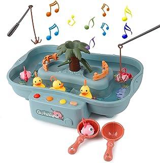 FORMIZON Juguete de Pesca, Juguetes de Baño Bebe, Juguetes Bañera Juguetes Piscina para Niños, Juguetes de Pesca con Músic...