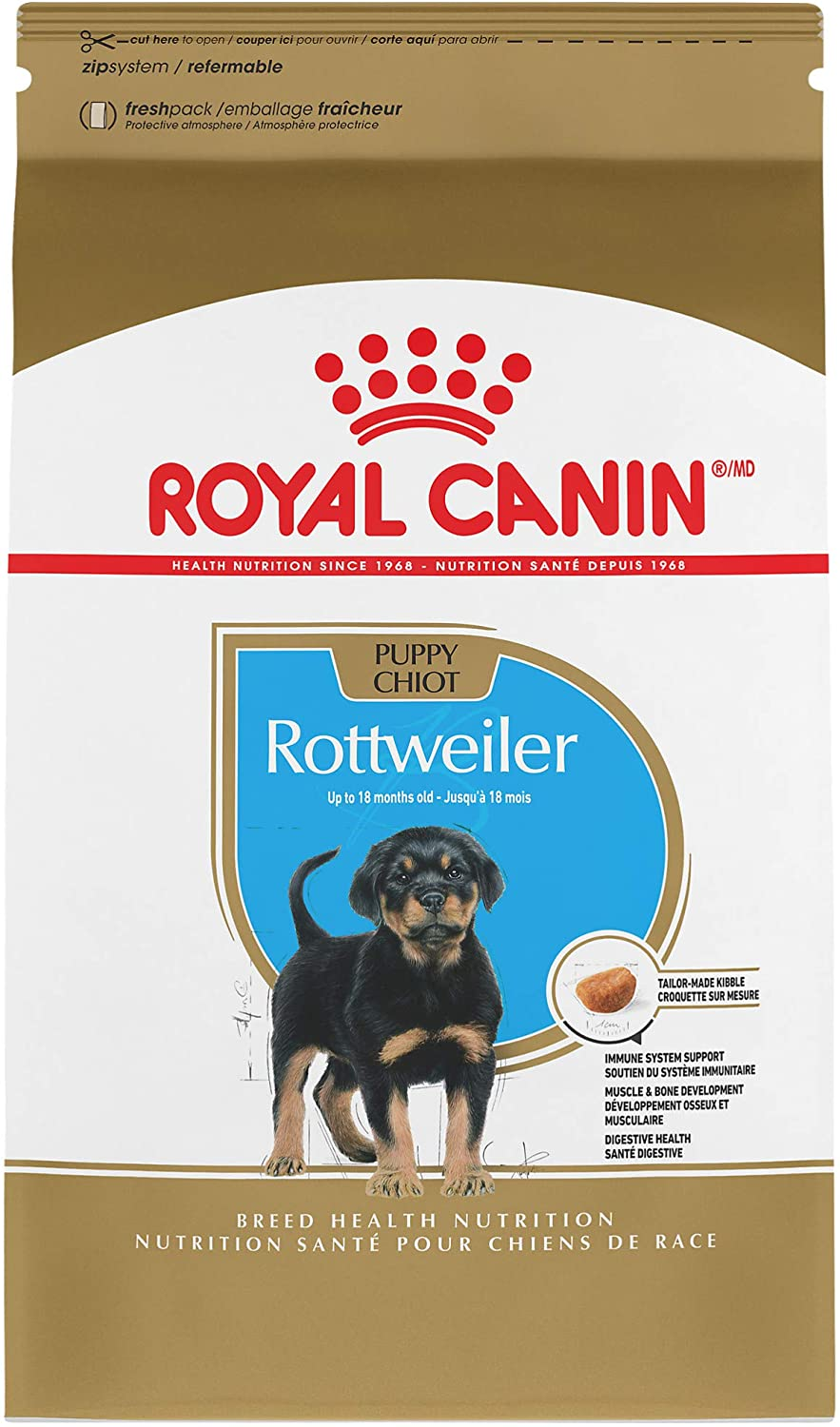Royal Max 81% OFF Canin Rottweiler Puppy Breed Specific Dry Free Shipping Cheap Bargain Gift 30 lb. Dog Food