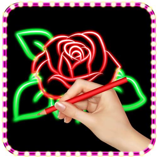Glow Draw Doodle -